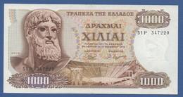 GREECE - P.198b – 1.000 Drachmai 01.11.1970 XF Serie 51P 347220 - Greece