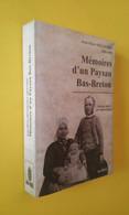 MÉMOIRES D'UN PAYSANS BAS-BRETON /GUERRE DE CRIMÉE/ ITALIE / ALGERIE/ MEXIQUE - Bretagne