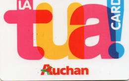 ITALY - FIDELTY CARD - SUPERMARKET - AUCHAN - LA TUA CARD - MAGNETIC - Other