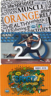 ITALY - MEMBERSHIP CARD - DANCE SCHOOL - CONI ENTE PROMOZIONE SPORTIVA - 3 CARDS - Other