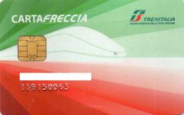 ITALY - MEMBERSHIP CARD - TRENITALIA - ITALIAN RAILWAY - CARTAFRECCIA - CHIP CARD - Other