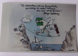 Régis DEBRAY - Signé / Dédicace Authentique / Autographe - Schrijvers