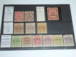 TRANSVAAL ENSEMBLE DE TIMBRES 1895 N°75/76 + N°112 + 126/130/131 + 136/141 - NEUF SANS CHARNIERES - STAMPS U.K (V) - Transvaal (1870-1909)