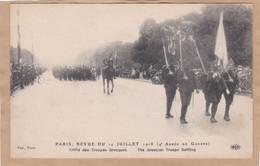 Paris Revue Du 14 Juillet 1918 Défilé Des Troupes Grecques - War 1914-18