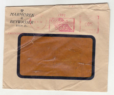 Hindenburg Koks Meter Stamp On Marmorek & Beywasser Company Letter Cover Posted 1930 B210915 - Cartas