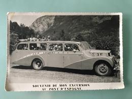 SOUVENIR DE MON EXCURSION AU PONT D'ESPAGNE - Automobiles