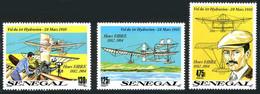 Sénégal 1989 1st Flight Seaplane Henri Fabre Hydravion (YT 866, Michel 1061, St Gibbons 1034) - Aerei