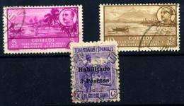 Guinea Español Nº 267, 291/2. Año 1942/9 - Guinée Espagnole