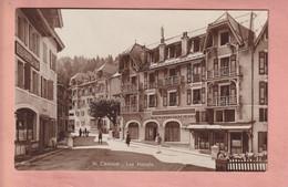 OUDE POSTKAART - ZWITSERLAND -    SAINT CERGUE - HOTELS - VD Vaud