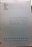Il Lelio, Ovvero Dell'amicizia - M.Tullio Cicerone - G.C. Sansoni Ed. - 1927 - G - Classici