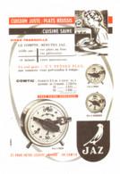 "PUB COMPTE-MINUTES  "" JAZ  ""  1957 ( 1 ) - Altri"