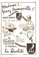 "PUB COMPTE-MINUTES  "" JAZ  ""  1957 ( 2 ) - Altri"