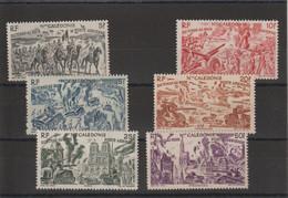 Nouvelle Calédonie 1946 Série Tchad Au Rhin PA 55-60, 6 Val **  MNH - Unused Stamps