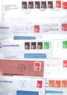 FRANCE LOT DE TYPE LUQUET SUR LETTRES - POIDS 1.840 GRAMMES - Kilowaar (min. 1000 Zegels)