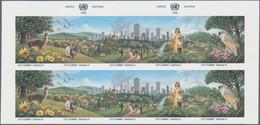 Thematik: Umweltschutz / Environment Protection: 1996, UNO New York. Progressive Proof (9 Phases / C - Protezione Dell'Ambiente & Clima