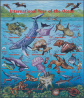 Thematik: Umweltschutz / Environment Protection: 1998, UNO New York. International Year Of The Ocean - Protezione Dell'Ambiente & Clima