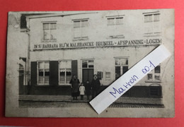 Lo - Fotokaart - Afspanning - In St -Barbara Bij M Malbrancke -Bruneel - Lo-Reninge