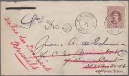 Costa Rica: 1891/1894, Group Of 3 Covers, Comprising 10 C Red-brown 'President Alfaro', Single Frank - Costa Rica