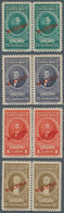 Costa Rica: 1943/1946, Presidents Airmail Issue 15 Different Stamps With Red Opt. MUESTRA All In Hor - Costa Rica