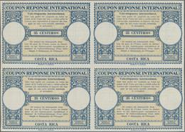Costa Rica - Ganzsachen: 1930, Design LONDON »35 CÉNTIMOS. COSTA RICA«. International Reply Coupon I - Costa Rica