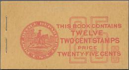 Vereinigte Staaten Von Amerika - Markenheftchen: 1923/1939 Three Complete Booklets, With 1923 25c. A - Ohne Zuordnung