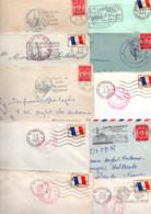 FRANCE LOT DE LETTRES DE FRANCHISE MILITAIRE -  POIDS 780 GRAMMES - Kilowaar (min. 1000 Zegels)