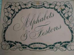 BRODERIE Alphabets, Festons Et Monogrammes Album N°3 - Fashion