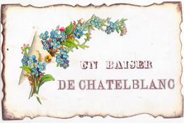 Wig-  25 Doubs Cpa   Un BAISER De CHATEBLANC - Altri Comuni