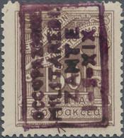 Ionische Inseln - Lokalausgaben: Zakynthos - Portomarken: 1941, 50lep. Lilac-brown Surcharged With V - Zonder Classificatie
