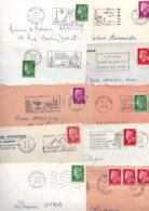 FRANCE LOT DE TYPE CHEFFER SUR LETTRES - POIDS 1310 GRAMMES - Kilowaar (min. 1000 Zegels)