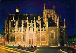 27 - Louviers - Egiise Notre Dame Illuminée - Vue De Nuit - CPM - Voir Scans Recto-Verso - Louviers