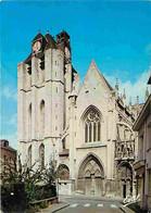 27 - Louviers - Egiise Notre Dame - La Façade - Flamme Postale De Château-Gaillard - Etat Légèrement Froissée - CPM - Vo - Louviers