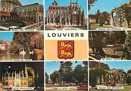27 - Louviers - Multivues - Blasons - CPM - Voir Scans Recto-Verso - Louviers