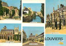 27 - Louviers - Multivues - Flamme Postale De Louviers - CPM - Voir Scans Recto-Verso - Louviers