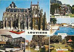 27 - Louviers - Multivues - Piscine - CPM - Voir Scans Recto-Verso - Louviers