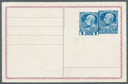 Österreichische Post In Der Levante: 1909, 1 Piaster Blau (Levante!) überlappend Neben 25 H Blau Reg - Levant Autrichien