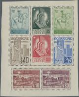 "Portugal: 1940, Center Piece Of Souvenir Sheet No. 2 With Distinctive Variety ""central Stamp 1 $ Ver - Nuevos"