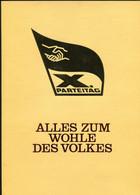 "DDR 1981 Propaganda Gedenkblatt X.Parteitag Der SED Mi.Nr.2595/98,Block63""m.SST""1085 Berlin ""1 Big Klappkarte - Briefe U. Dokumente"