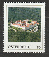Personalisierte BM Luftansichten Von Schlössern Und Klöstern Stift Göttweig Niederösterreich ** Postfrisch - Private Stamps