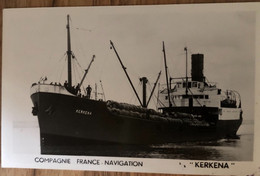 COMPAGNIE FRANCE - NAVIGATION «KERKENA» - Non Classificati