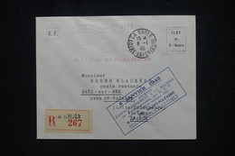 FRANCE - Cachet Du 1er Jour De La Machine à Affranchir De L 'Îlot De St Nazaire En 1945 Sur Enveloppe En Reco - L 106198 - Liberation