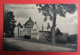 Melle - In Vlaanderenland - Langs De Weg - Oorlog 1914-15 - Melle