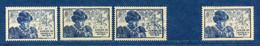 ⭐ France - Variété - YT N° 743 - Couleurs - Pétouilles - Neuf Sans Charnière - Droite Avec Charnière - 1945 ⭐ - Varieties: 1945-49 Mint/hinged