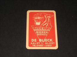 Oude Speelkaart Brouwerij DE BLIECK -AALST Alost Brasserie - Autres