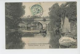 VILLENEUVE SAINT GEORGES - Vue Sur L'Yerres - Villeneuve Saint Georges
