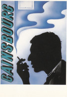 SERGE GAINSBOURG - PEU COURANTE CARTE POSTALE. - Cantanti E Musicisti