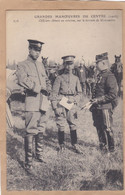 Grandes Manoeuvres Du Centre 1908 Officier Chinois En Mission Sur Le Terrain De Manoeuvres - Manoeuvres