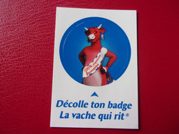 Carte Vache Qui Rit  Badge Cow Kuh Vaca Mucca Koe Autocollant - Other