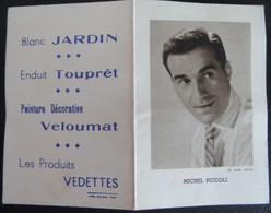 Mini Calendrier 1962 Michel Piccoli Produits Vedettes - Small : 1961-70
