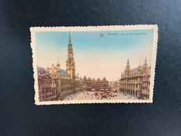 Brussel Stad - Grand'place - Grote Markt - Hôtel De Ville - Bruxelles (Città)